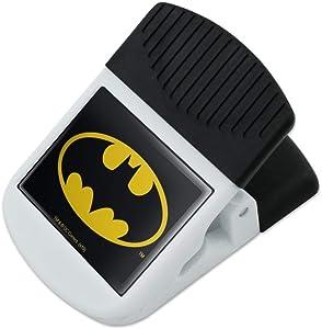 Batman Classic Bat Shield Logo Refrigerator Fridge Magnet Magnetic Hanging Hook Note Snack Clip