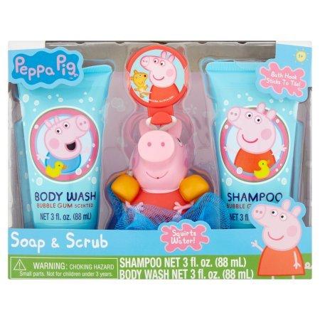 Peppa Pig Soap and Scrub Set ()