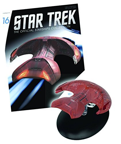 Star Trek Starships Figure & Magazine #16 Ferengi Marauder by Eaglemoss Publications