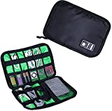 Banuce Electronics Accessories Bag Portable Travel Organizer Case for Various USB, Phone Charger, Power Bank