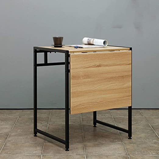 KEOA Mesa De Comedor Doble Mesa Plegable Minimalista Moderna Mesa ...