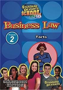 Standard Deviants School - The Cutthroat World of Business Law, Program 2 - Torts (Classroom Edition) by Cerebellum Corporation