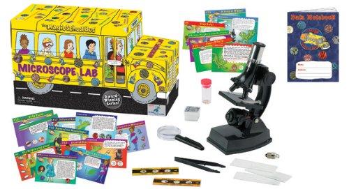 The Magic School Bus: Microscope Lab Bus Kit, Scientific Toys (Microscope Bus Magic)