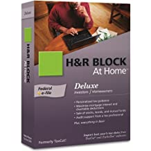 H&R Block At Home 2009 Deluxe Federal + eFile [OLD VERSION]