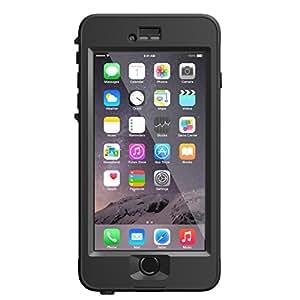 """LifeProof NUUD iPhone 6 Plus ONLY Waterproof Case (5.5"""" Version) - Retail Packaging -  BLACK"""