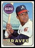 #7: Baseball MLB 1969 Topps #300 Felipe Alou EX Excellent Braves