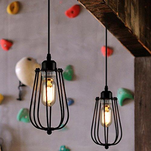 Vintage JourLustre Abat Métal Lampe Luminaires Suspension ALc5Rq34j