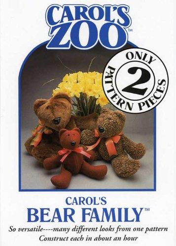 Patterns - Carol's Zoo - Bear - Zoo Carols
