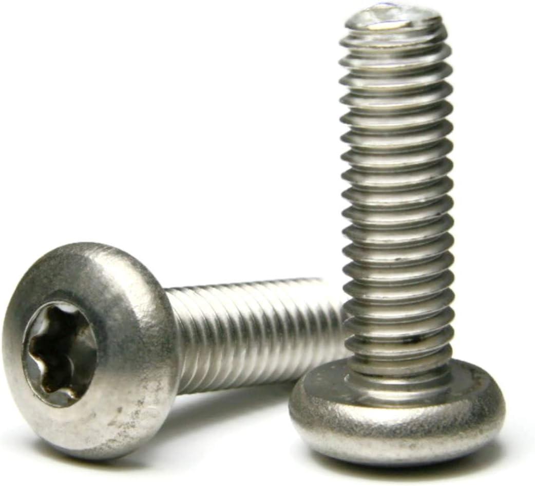 "Stainless Steel Torx Pan Head Machine Screw 3//8-16 x 1-1//4/"" Qty-25"