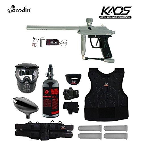 Azodin Kaos Starter Protective HPA Paintball Gun Package - Gunmetal Blue