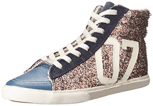 KIM&ZOZI Women's Glitter Hi Fashion Sneaker - Multi - 9 B...