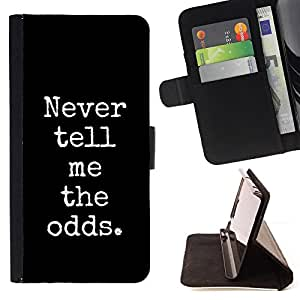 Ihec-Tech / Negro Flip PU Cuero Cover Case para Samsung Galaxy S4 Mini i9190 - Poker Blackjack Noir