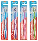 Colgate Extra Clean Full Head Toothbrush, Soft, Assorted Colors (Pack of 12)