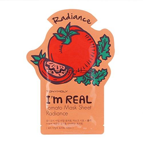 Tonymoly I`m Real Tomato Mask Sheet Radiance (3 PCS)