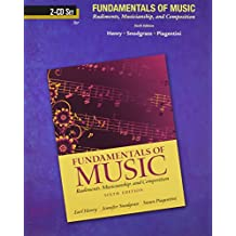 CD for fundamentals of Music: Rudiments, Musicanship, and Composition