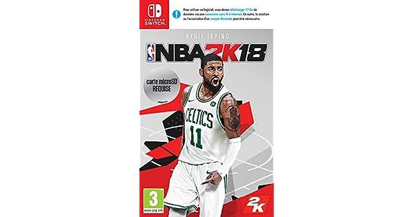 NBA 2K18 - Nintendo Switch [Importación francesa]: Amazon.es: Videojuegos
