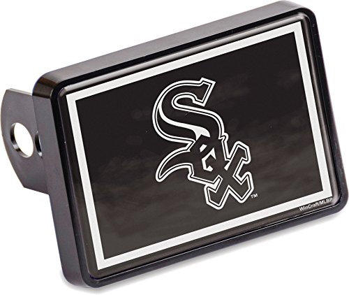 White Sox Trailer Hitch Cover - 6