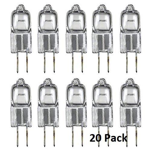 (Classic Light Bulb - JC 10 Watt Halogen G4 Bi Pin Lamp (12V) Low Voltage (20 Pack) (10 Watt))