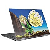 Skinit Dragon Ball Z Envy x360 15t (2018) Skin - Gohan Power Punch Design - Ultra Thin, Lightweight Vinyl Decal Protection