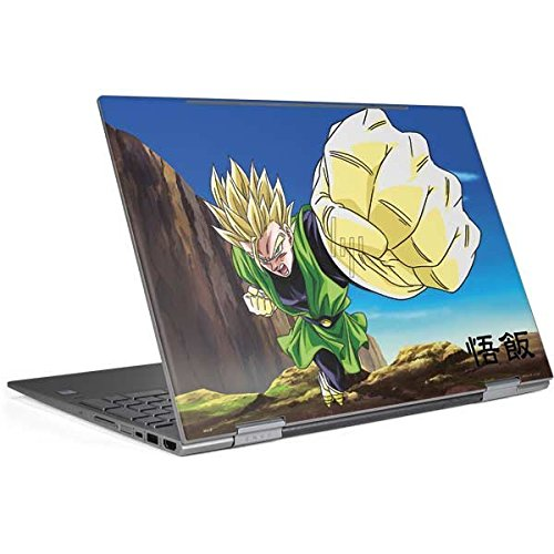 Skinit Dragon Ball Z Envy x360 15t (2018) Skin - Gohan Power Punch Design - Ultra Thin, Lightweight Vinyl Decal Protection by Skinit (Image #4)