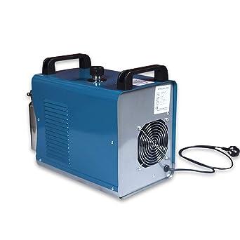 OUKANING Máquina de pulido de llama acrílica de 75 l de oxígeno y hidrógeno de agua soldador de llama: Amazon.es: Industria, empresas y ciencia