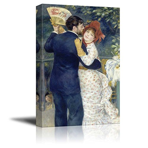 wall26 - Country Dance by Pierre Auguste Renoir - Canvas Print Wall Art Famous Painting Reproduction - 16