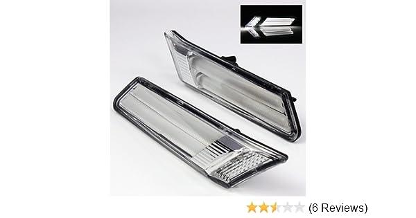 ModifyStreet Clear LED Side Marker lights for 05-12 Porsche  911/997/987/Boxster/Cayman