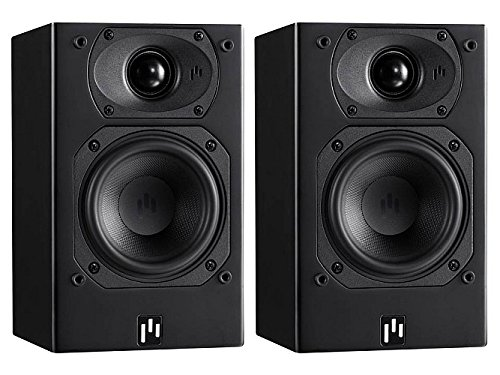 Aperion Audio Intimus 4B Bookshelf Speaker Pair (Stealth Black)