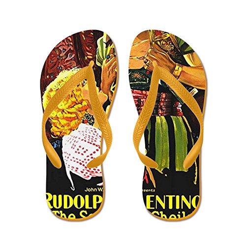 60239dcb478c CafePress - Rudolph Valentino - Flip Flops