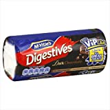Mcvities Chocolate Rollwrap Digestive Crackers, 10.5 Oz, Pack Of 24