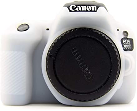 Pinyu - Funda de Silicona para cámara réflex Digital Canon EOS ...
