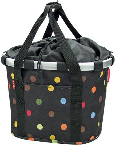 KlickFix Dots bike bags handlebar black