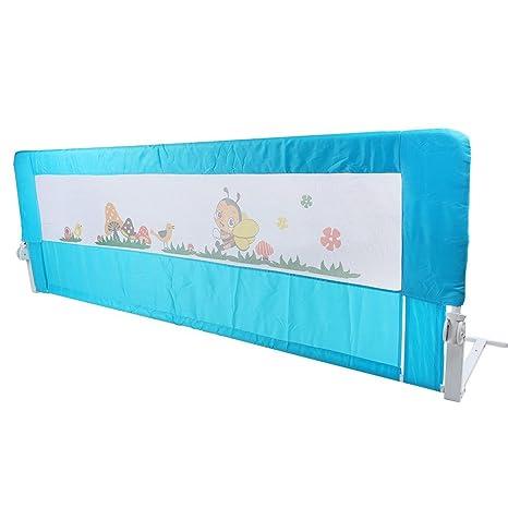 150cm Barriera Di Sicurezza Protezione Per Letto Bambini Pieghevole
