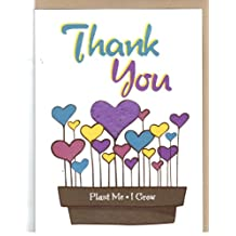 Thank You Greeting card pack of 3