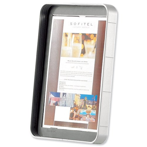 (Tarifold Info Stand Literature Holder for Info Stand Solo Portrait A4 Ref 550365)