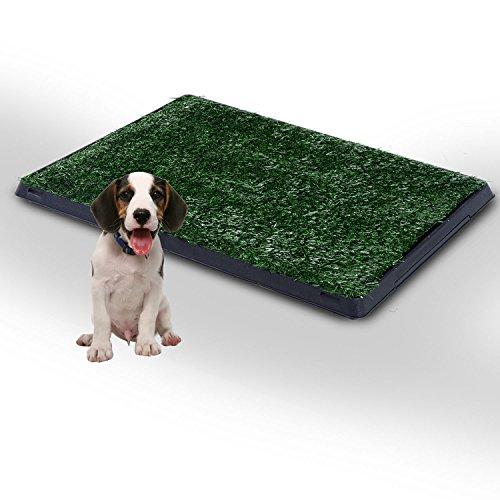 SUNLIGHTAM Deluxe Large Pet Dog Lawn Toilet Mat Indoor Po...