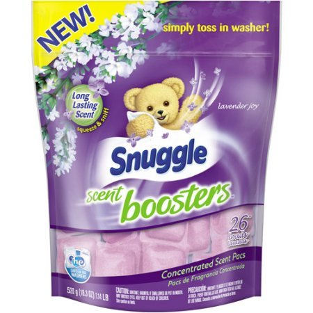 Snuggle Scent Boosters Long-lasting scent Lavender Joy Simply toss in washer Concentrated Scent Pacs, 26 count, 18.3 oz