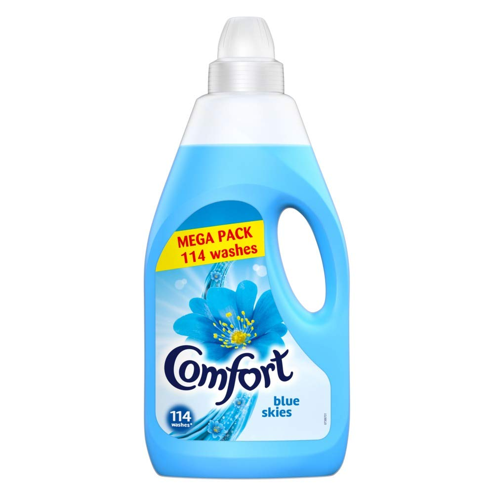 Comfort Blue Skies Extra Freshness Fabric Conditioner for Fabric Conditioning 114 Wash 4 Litre