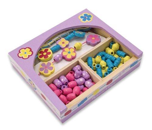 - Melissa & Doug Flower Power Bead Set