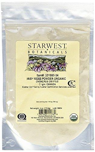 Irish Moss Powder Organic Botanicals product image