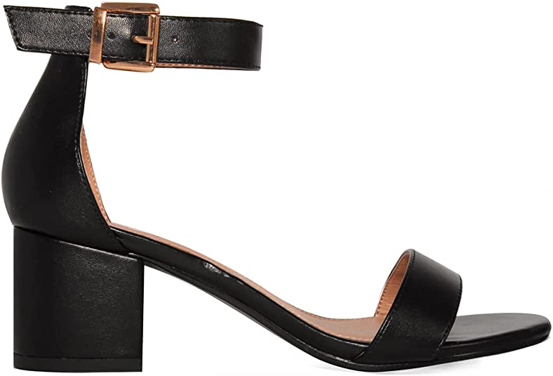 Details about  /Women/'s Colorful Ankle Strappy Buckle Stiletto Heels Office Banquet Causal Shoes