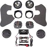 J&M Audio Rokker XXR 4 Speaker with 630 Watt Amplifier Kit for 2006-2013 Harley-Davidson Ultra Classic and Limited models - HC-630XXR-UC