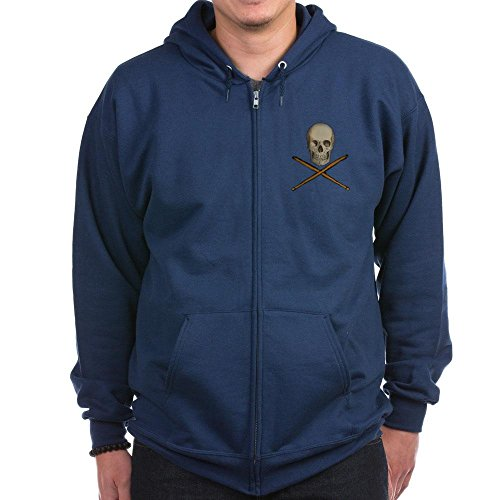 Barker Travis Stick (CafePress - Zip Hoodie (dark) - Zip Hoodie, Classic Hooded Sweatshirt with Metal Zipper)