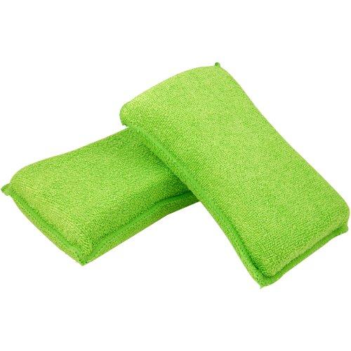Quickie Lysol Microfiber Sponges, Fine, 2-Pack (Strip Mop Sponge Power)