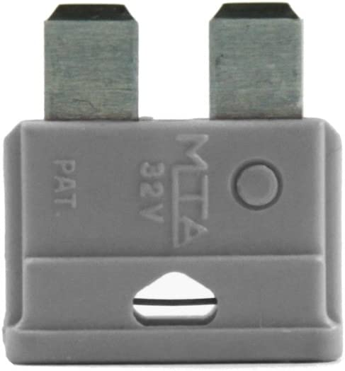 Vs Electronic 3601381 Kfz Flachsicherung 2a Grau Beutel Mit 5 Stück 0 Auto