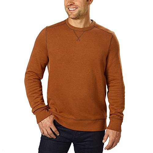 G.H. Bass Mens Crew Neck Sweatshirt (L, - Outlet Bass Store