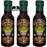 Pacific Island Soy Sauce, American Made, Fat-Free, Gluten-Free, No Sugars, Non-GMO, No Carbs, MSG-Free, Corn-Free, Vegan-Friendly, No Preservatives, Naturally Fermented, Lowest Sodium Real Soy Sauce