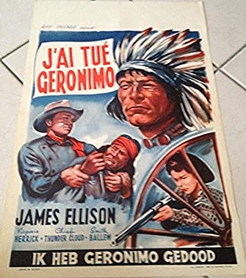 Tengo muerto Geronimo-James Ellison, 40 x 56 cm Cartel ...