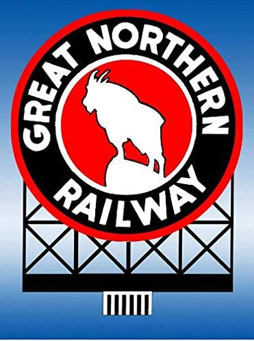 44-3202 Great Northern Railroad by Miller Signs Small