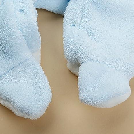 9dfbdd434dbbf Amazon.co.jp: ウィンターバーゲン 激安 ベビー用 赤ちゃん 着ぐるみ ベルベットフリース カバーオール ジャンプスーツ ロンパース ネコ  撮影 出産祝い (95